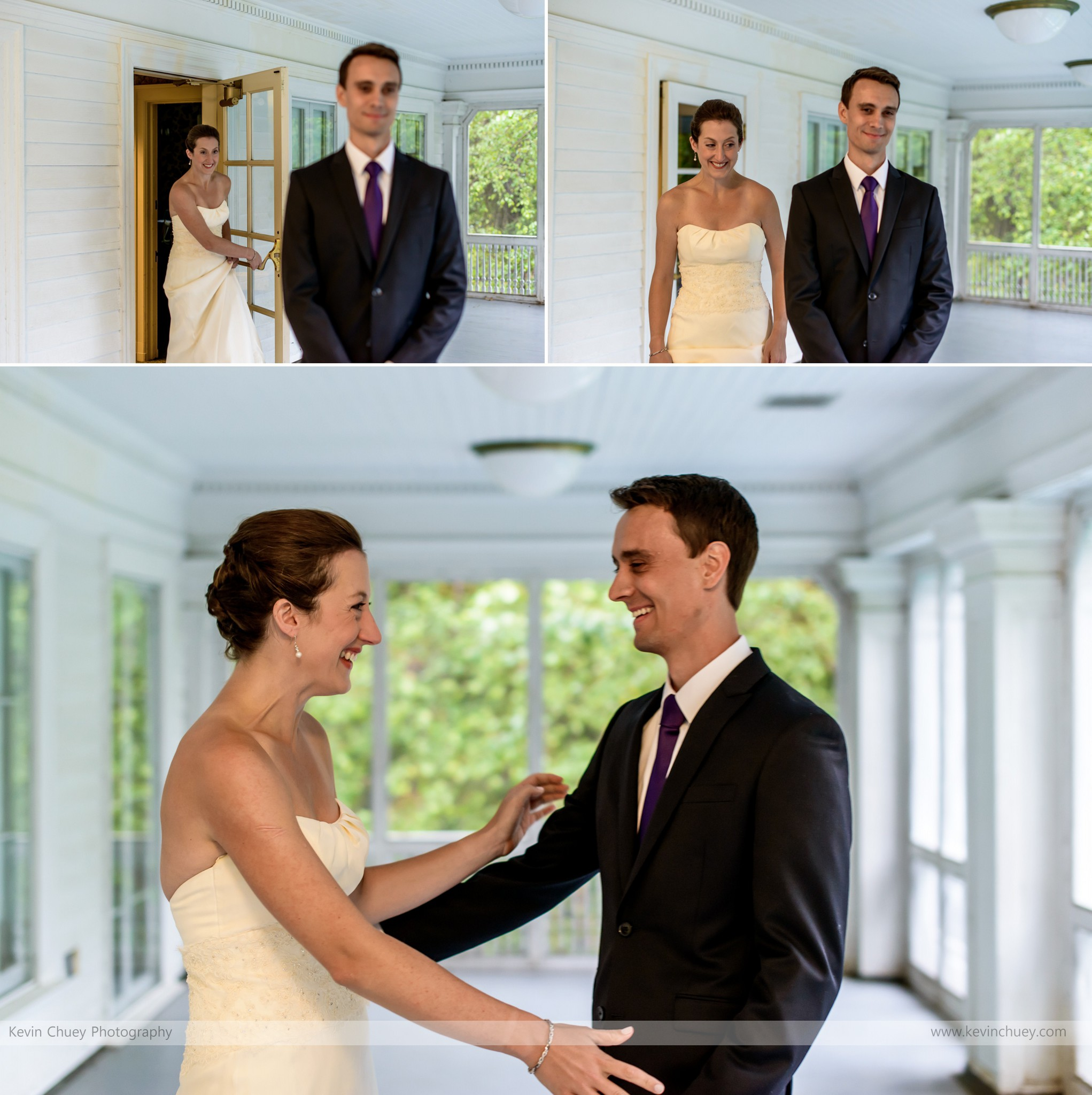 First Look Wedding Photos, Mooreland Mansion