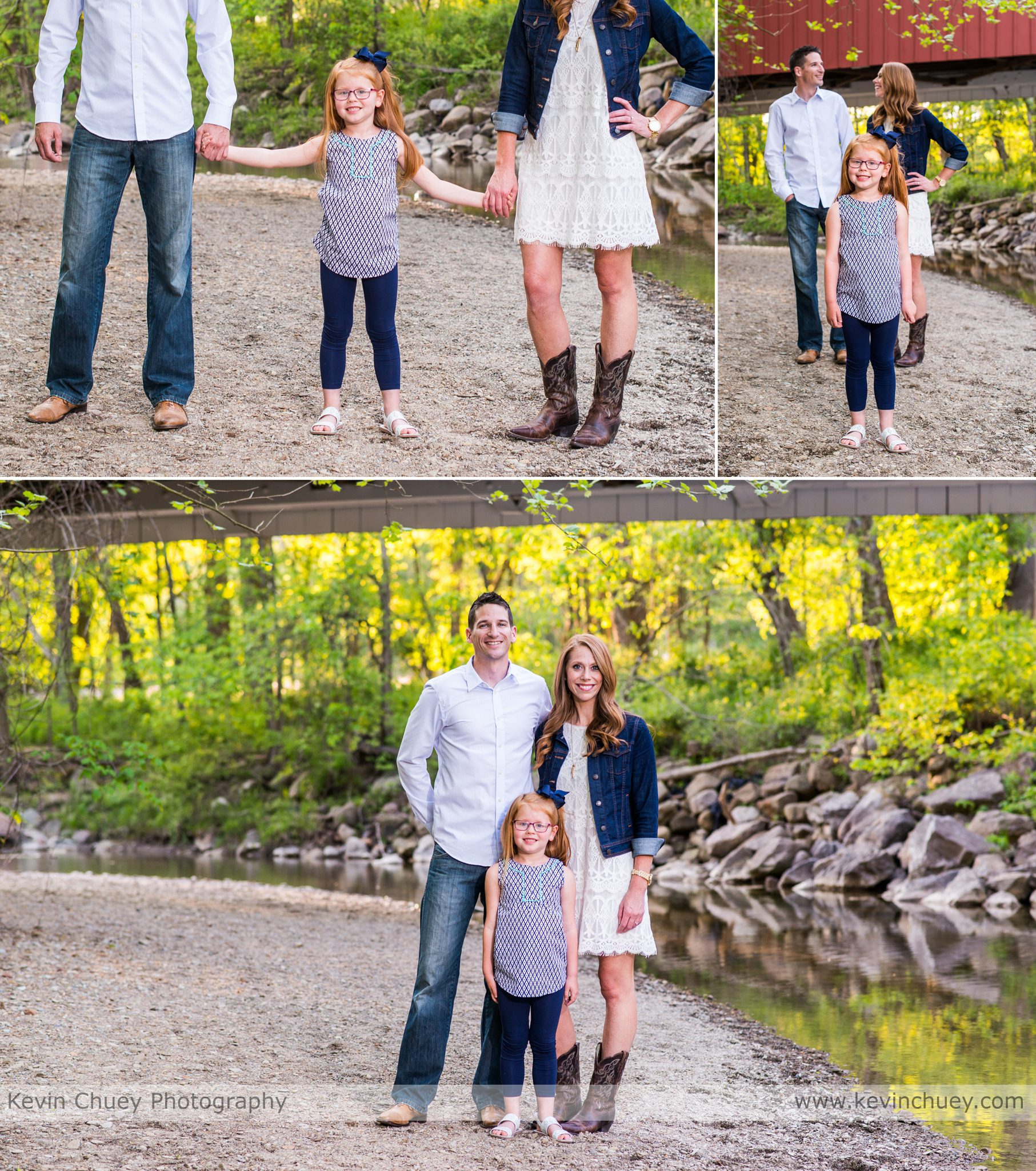 Cuyahoga Valley National Park Family Portrait Session